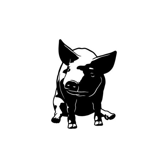 Pig Vinyl Decal Sticker V12