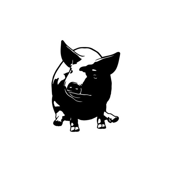 Pig Vinyl Decal Sticker V13