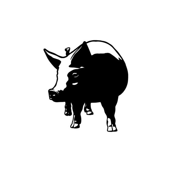 Pig Vinyl Decal Sticker V14