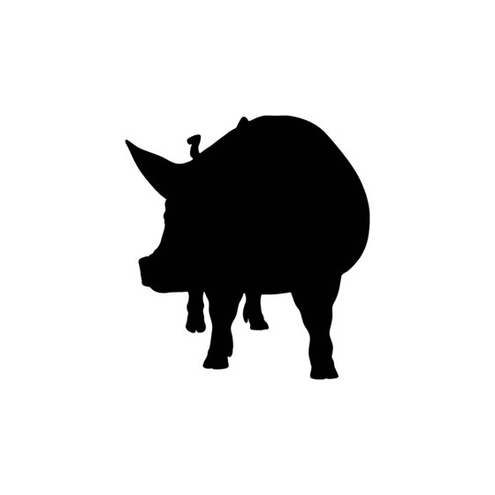 Pig Vinyl Decal Sticker V15