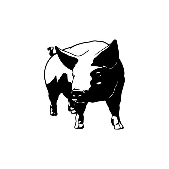 Pig Vinyl Decal Sticker V16