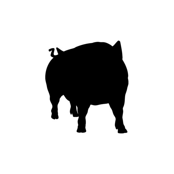 Pig Vinyl Decal Sticker V17