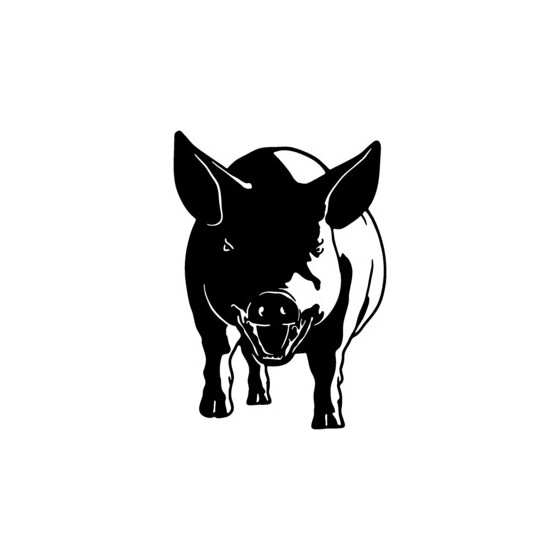 Pig Vinyl Decal Sticker V18