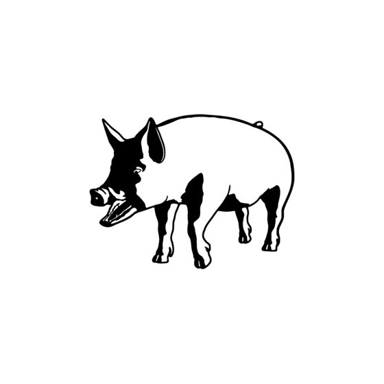 Pig Vinyl Decal Sticker V19