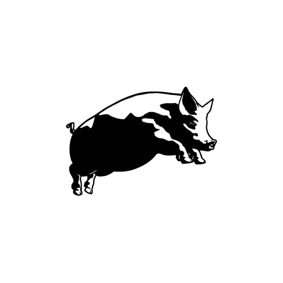 Pig Vinyl Decal Sticker V2