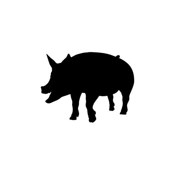 Pig Vinyl Decal Sticker V20