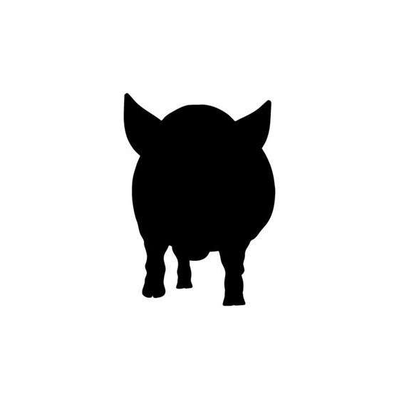 Pig Vinyl Decal Sticker V21