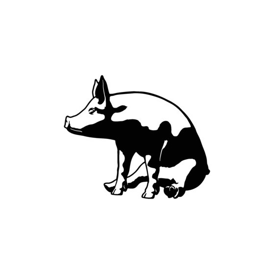 Pig Vinyl Decal Sticker V22