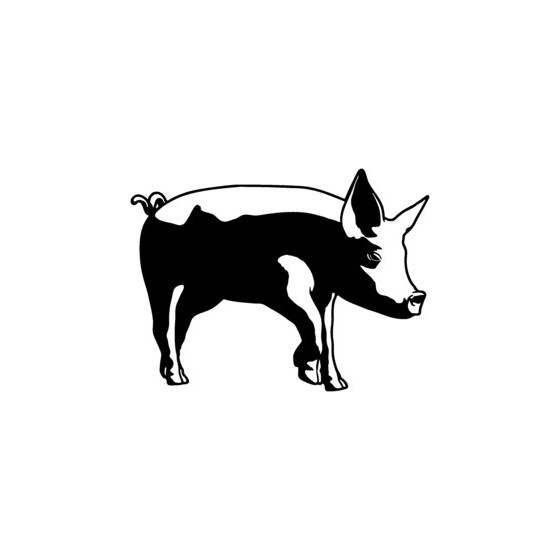 Pig Vinyl Decal Sticker V23