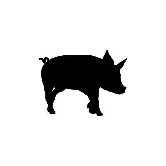 Pig Vinyl Decal Sticker V24