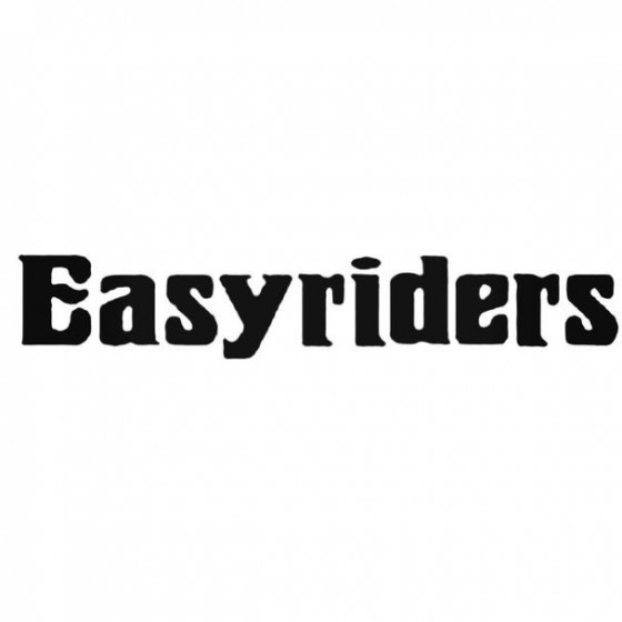 Easyriders Decal Sticker