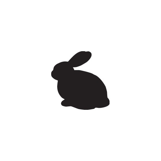 Rabbit Vinyl Decal Sticker V2