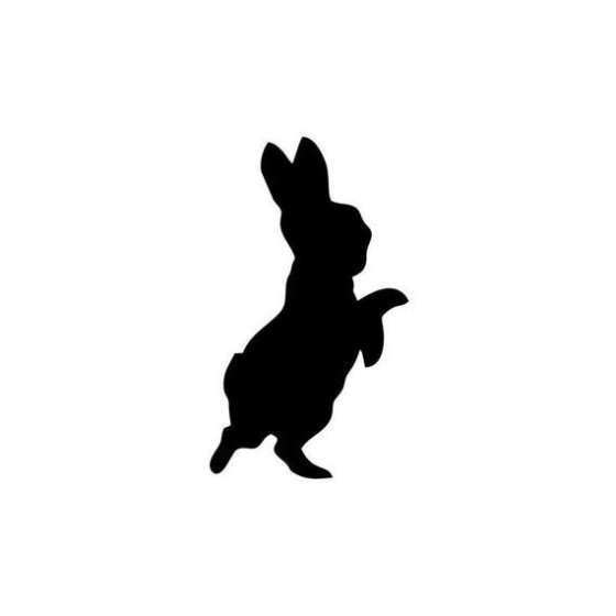 Rabbit Vinyl Decal Sticker V22