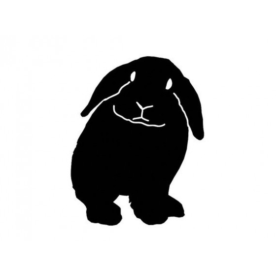 Rabbit Vinyl Decal Sticker V30