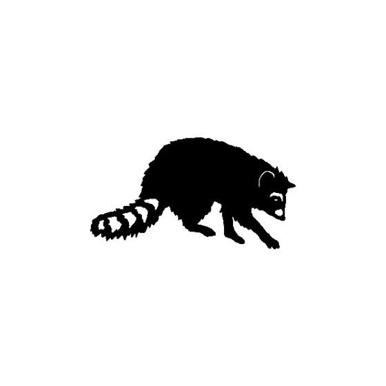 Raccoon Coon Vinyl Decal...