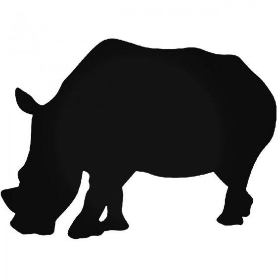 Rhino Vinyl Decal Sticker V17
