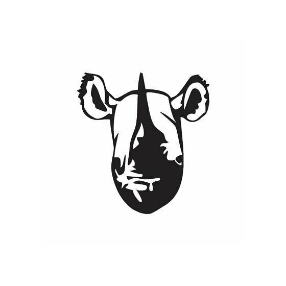 Rhino Vinyl Decal Sticker V19