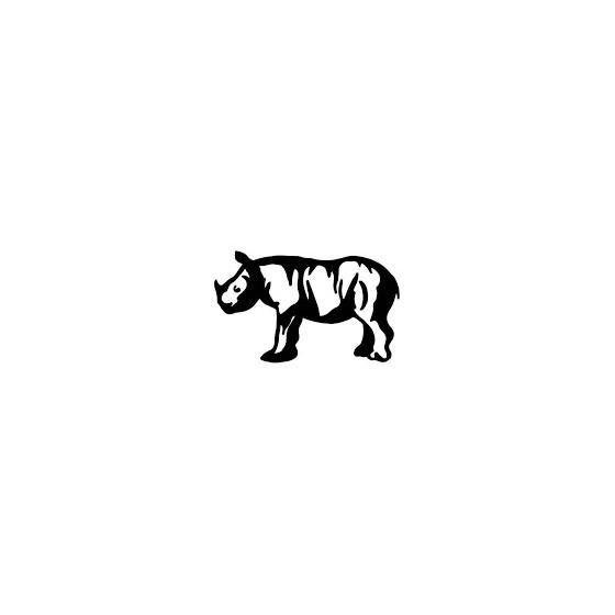 Rhino Vinyl Decal Sticker V27