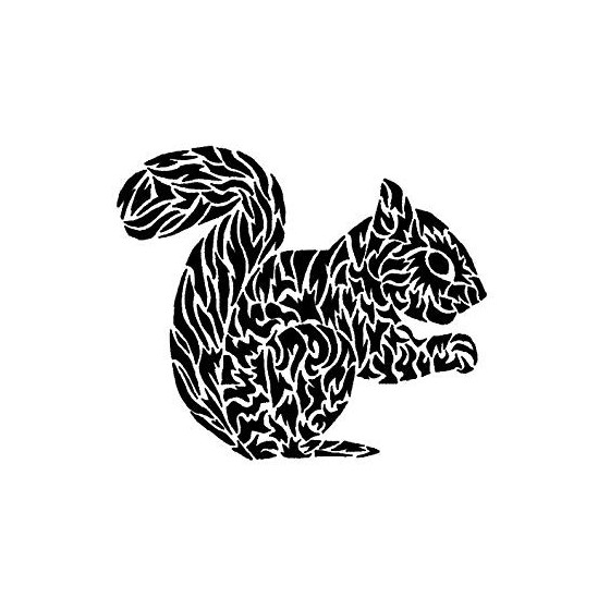 Squirrel Vinyl Decal...