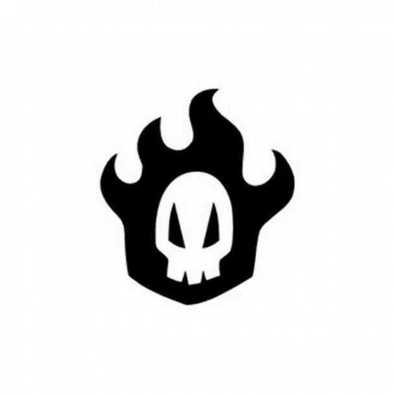Bleach Rukia Skull Decal...