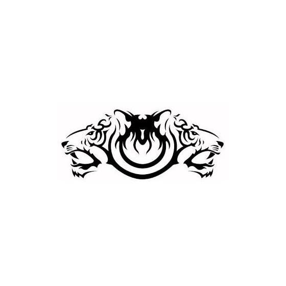 Tiger Vinyl Decal Sticker V17