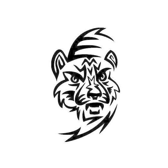 Tiger Vinyl Decal Sticker V19