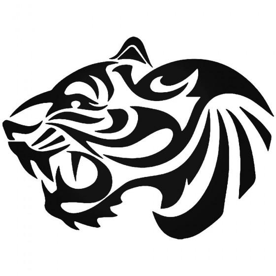 Tiger Vinyl Decal Sticker V2