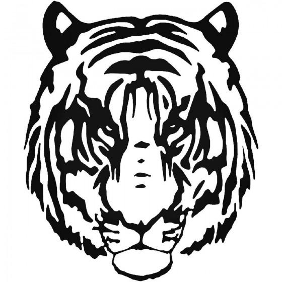 Tiger Vinyl Decal Sticker V20
