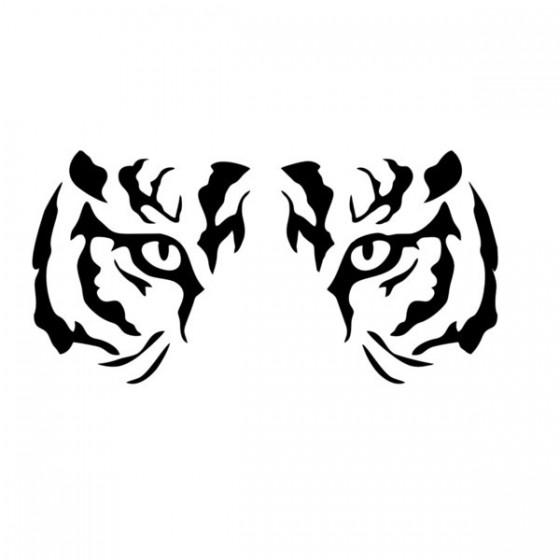 Tiger Vinyl Decal Sticker V22