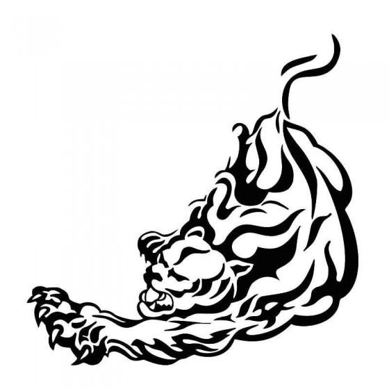 Tiger Vinyl Decal Sticker V29