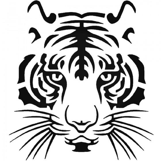 Tiger Vinyl Decal Sticker V3