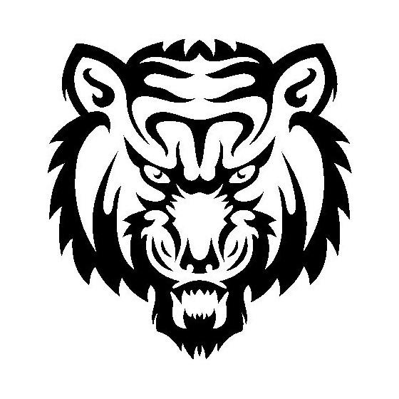 Tiger Vinyl Decal Sticker V32