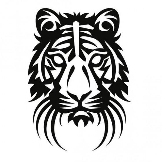 Tiger Vinyl Decal Sticker V34