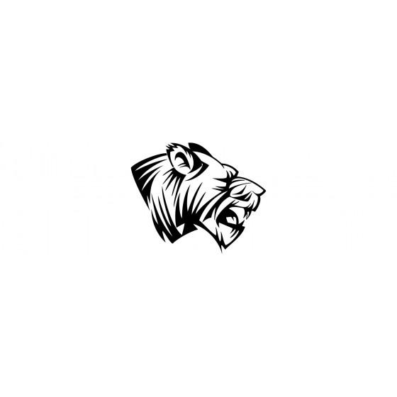 Tiger Vinyl Decal Sticker V35