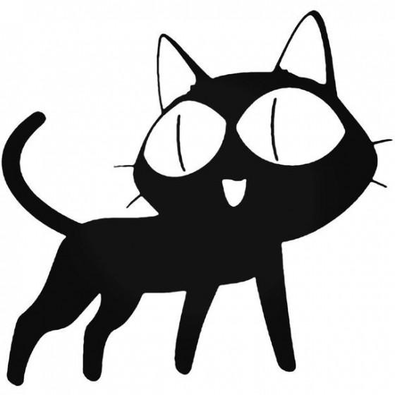 Cat Anime 023 Decal