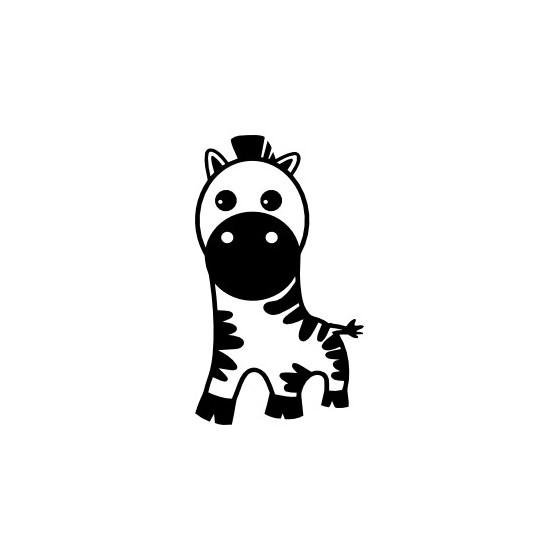 Zebra Vinyl Decal Sticker V13