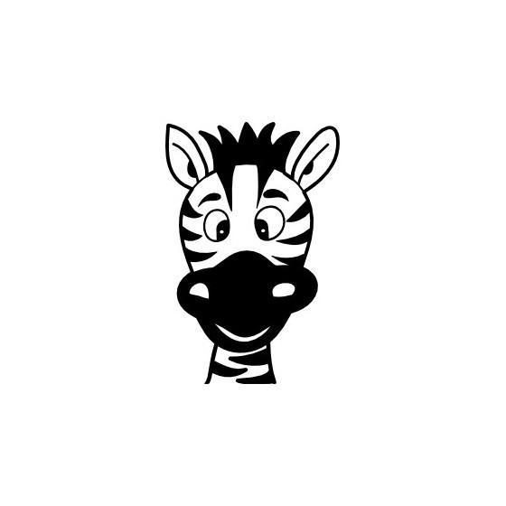 Zebra Vinyl Decal Sticker V21