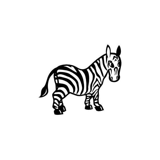 Zebra Vinyl Decal Sticker V22