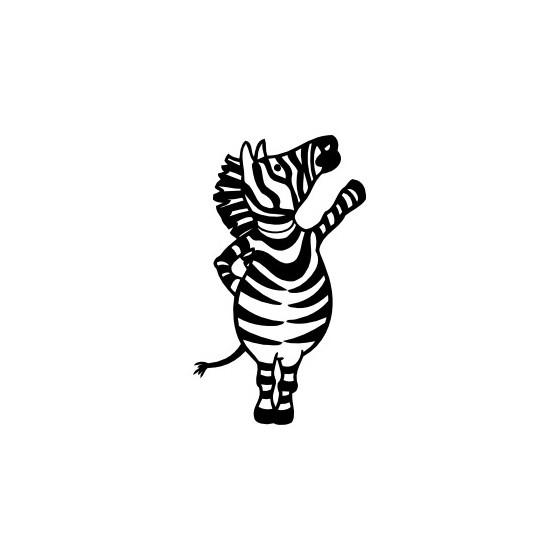 Zebra Vinyl Decal Sticker V23