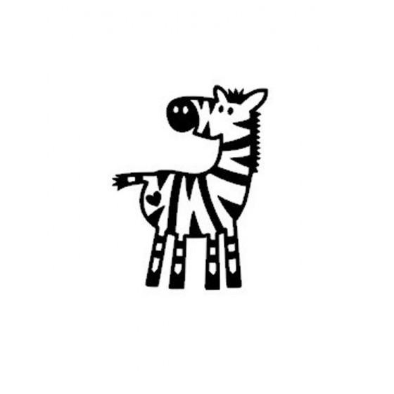 Zebra Vinyl Decal Sticker V4