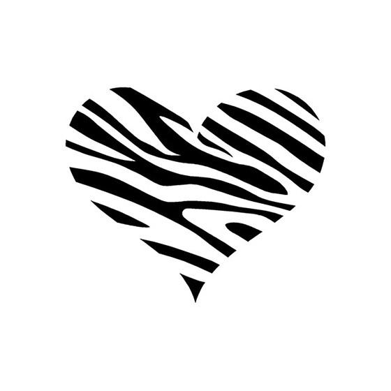 Zebra Vinyl Decal Sticker V7