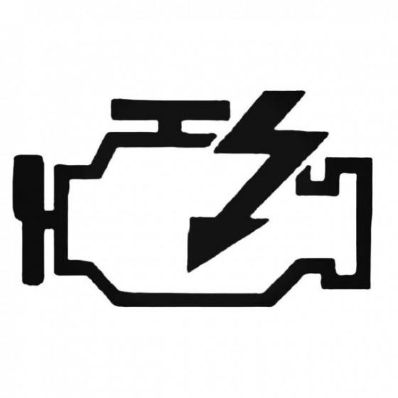 Engine Fail Decal Sticker