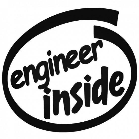Engineer Inside Sticker