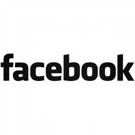 Facebook Decal Sticker