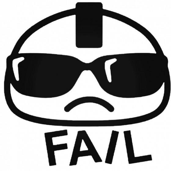Fail 1 Decal Sticker
