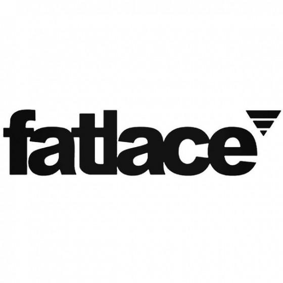 Fatlace 1 Decal Sticker