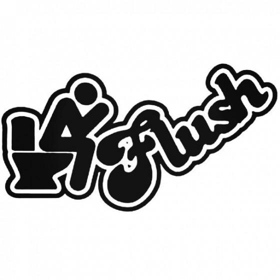 Flush Decal Sticker