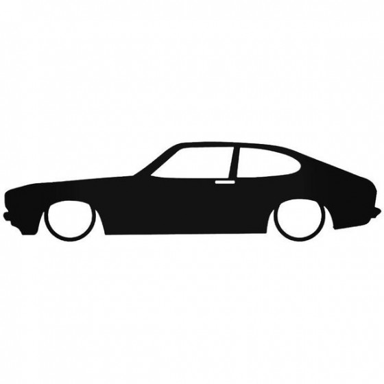 Ford Capri Low Decal Sticker