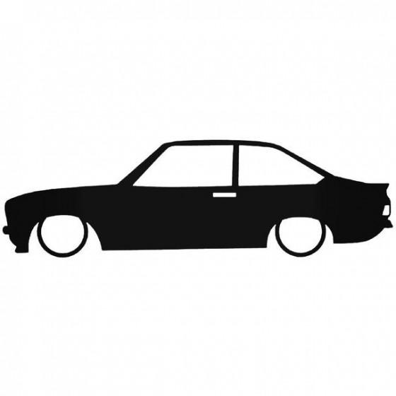 Ford Escort Mk2 Low Sticker
