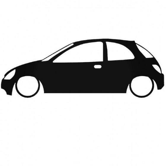 Ford Ka Low Sticker